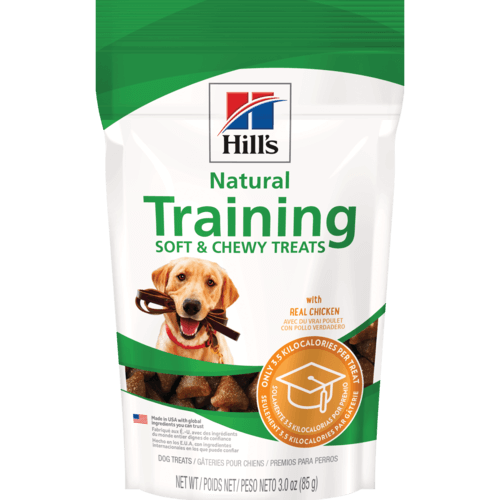 Hill's Natural Training Soft & Chewy Treats Package Photo