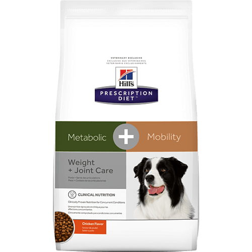 Hills Prescription Diet Metabolic Plus Mobility canine dry product pack
