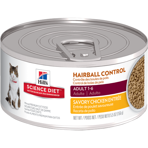 Cat Food Sensitive Stomach And Hairball