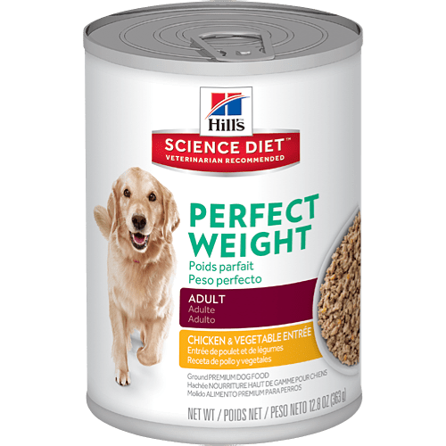 Science Diet Dog Food Cup Weight