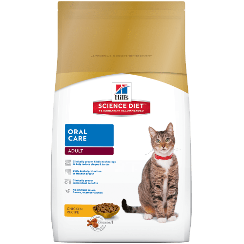 Hill S 174 Science Diet 174 Adult Oral Care Cat Food Dry