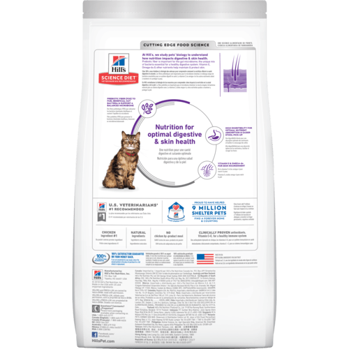 rice and egg science diet cat food